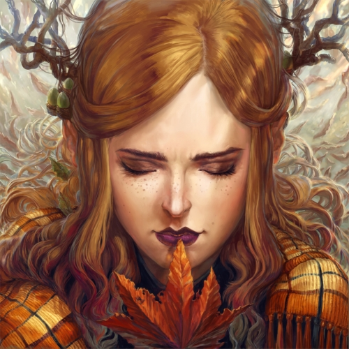 Autumn Girl by Naomi Robinson © 2018