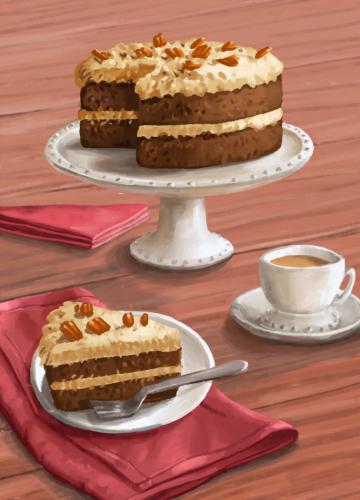 53 german chocolate cake
