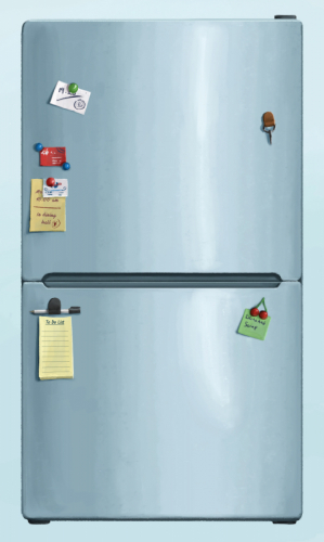 fridge board