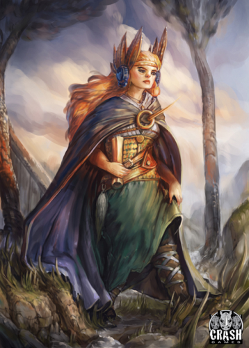 viking female character2